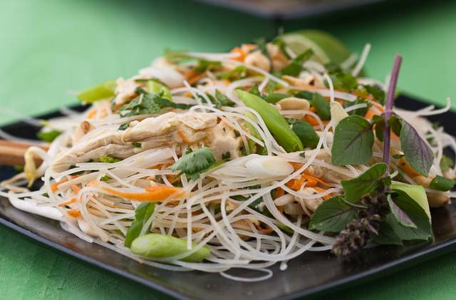 Thai Chicken Noodle Salad - Recipe
