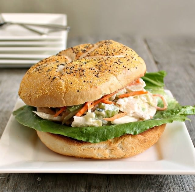 Chicken Slaw Burger