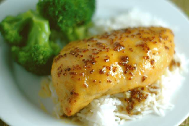 Orange Mustard Chicken